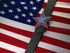 Free US Tightens Its Belt Royalty Free Stock Images - 20643739