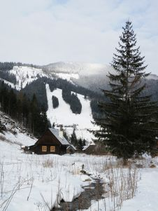 Free Winter Cottage Stock Images - 20644644