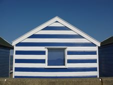 Free Striped Beach Hut In Southwold Stock Images - 20644794