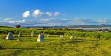 Free Stone Circle At Birkrigg Fell Stock Image - 20645661