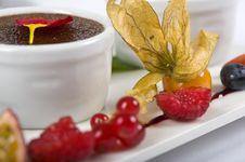 Fresh Exotic Fruit Cake Stock Photos