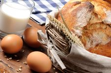 Free Set Of Traditional Countryside Breakfast Stock Images - 20647124