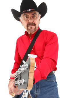 Free Handsome Eldery Country Musician Royalty Free Stock Photo - 20647185