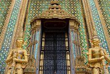 Wat Phra Kaew Temple Stock Photos