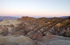 Free Sunrise At Zabriskie Point Royalty Free Stock Photos - 20648528