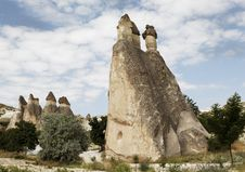 Free Groups Of Fairy Chimneys Cappadocia Royalty Free Stock Photography - 20648537