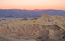 Free Sunrise At Zabriskie Point Stock Photography - 20648542