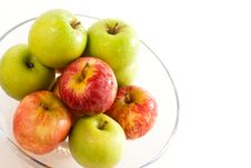 A Bowl Of Apples Royalty Free Stock Photos