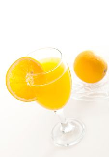 Free A Glass Of Orange Juice Stock Images - 20648664