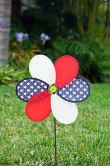 Free Pinwheel With The U.S. Symbol Stock Photo - 20648670