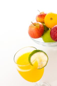 Free A Glass Of Orange Juice Royalty Free Stock Photography - 20648687