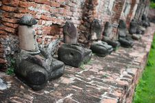 Free Ayutthaya Buddha Statues Stock Photo - 20648750