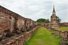 Free Ayutthaya, Thailand Temple Stock Photography - 20648762