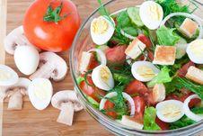 Free Vegetable Salad Royalty Free Stock Image - 20648796