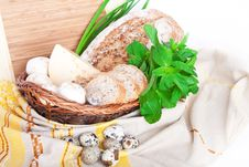Free The Basket With A Food Royalty Free Stock Photo - 20648805