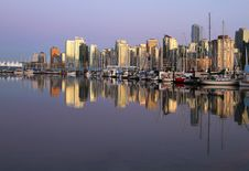 Free Vancouver Evening , Canada Royalty Free Stock Image - 20649476