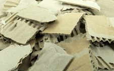 Free Pieces Of Torn Cardboard. Stock Photography - 20649682