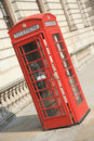 Free Red Phone Booth Royalty Free Stock Photos - 20650018