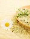 Free Herbal Sea Salt Royalty Free Stock Photo - 20653125