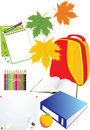 Free Set Of School Accessories Royalty Free Stock Photos - 20654658