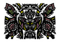 Free Decorative Floral Pattern Royalty Free Stock Photography - 20657287