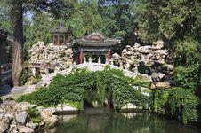 Free China Garden, Beihai Park ,Beijing Royalty Free Stock Photography - 20650977