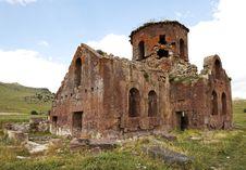 Free Old Red Church Kizil Kilsie Turkey Royalty Free Stock Images - 20651239