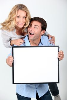 Free Enthusiastic Couple Stock Photography - 20651362
