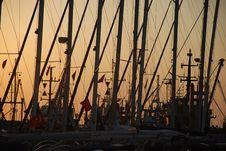 Free Sailboat Stick Stock Image - 20651571
