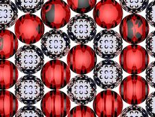 Free 3D Spiral Balls Stock Image - 20651741