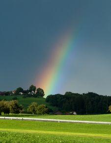 Free Rainbow Strike Stock Image - 20651831