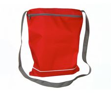 Free Small Red Sport Bag Stock Image - 20652161