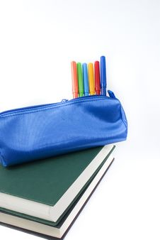 Free Pen Case Royalty Free Stock Photo - 20652545