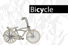 Free Outline Bicycle Stock Photos - 20653133