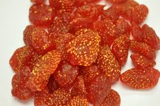 Dried Strawberries Royalty Free Stock Image