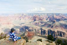 Free Female Hiker Takes A Break Stock Photos - 20653603
