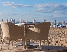 Free Morning Beach. Stock Image - 20653811