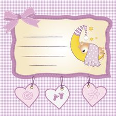 Free Welcome New Baby Girl Royalty Free Stock Photo - 20653915