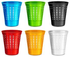 Free Color Plastic Basket Stock Image - 20654591