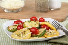 Free Sauteed Summer Squash Stock Images - 20655064