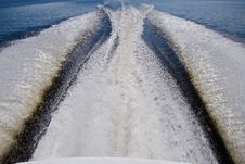 Free Trace From A Boat Stock Photos - 20655123