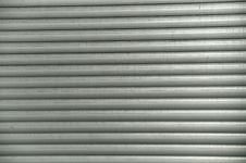 Free Grey Lines Of A Closed Shutter Royalty Free Stock Photography - 20655517