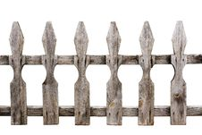 Free Old Weathered Wooden Fence Royalty Free Stock Image - 20655686