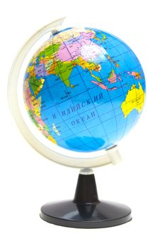 Free Globe On A White Stock Photos - 20655943