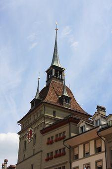 Free Clock Tower, Bern Royalty Free Stock Image - 20656246