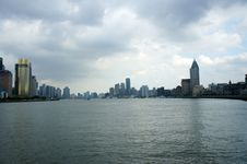 Free Panorama Of Shanghai (the Bund) Royalty Free Stock Images - 20656469