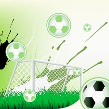 Free Soccer  Background. Stock Photography - 20656472