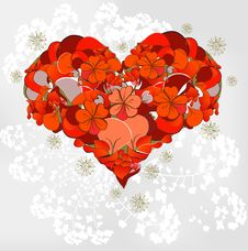Free Heart From Flowers Stock Photos - 20656793