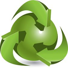 Free Green Ball Stock Image - 20657541