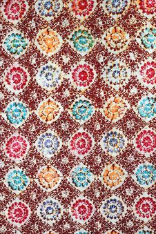 Free Batik Texture Made In Malaysia Royalty Free Stock Photo - 20657625
